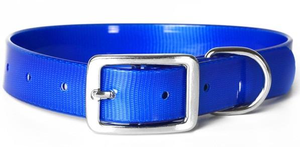 Каскад Ошейник из биотана 12мм*24-28см синий