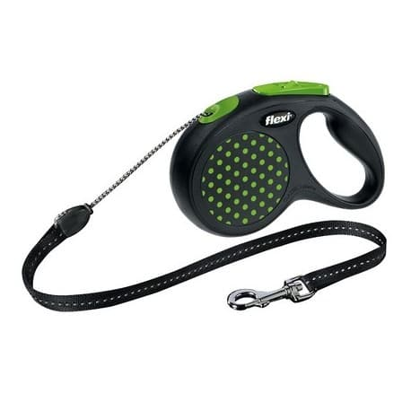 Flexi Design cord 5м размер S до 12кг цвет зеленый