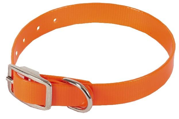 Каскад Ошейник из биотана 12мм*20-24см оранжевый