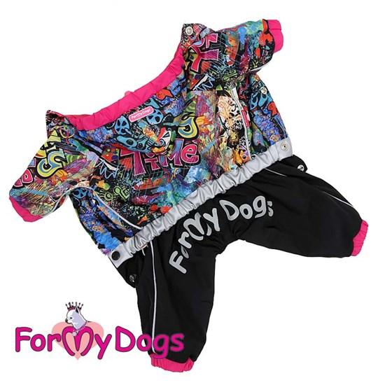 ForMyDogs Дождевик мультиколор для девочек
