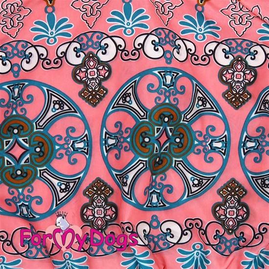 Дождевик розовый/голубой для девочек, р-р 8