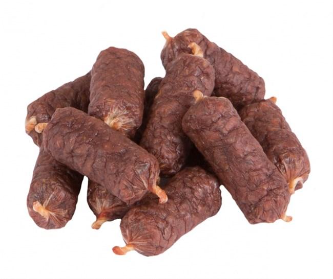 TiTBiT Колбаски сыровяленые Salamini с индейкой, 40 гр