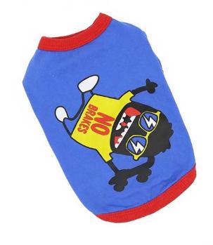 Фо Май Дог 6XL футболка голубая