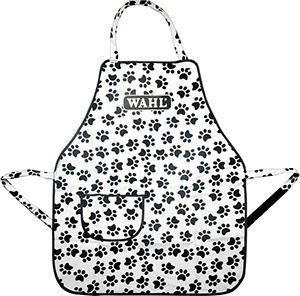 Moser Wahl Logo Aprons pocket фартук белый с лапами