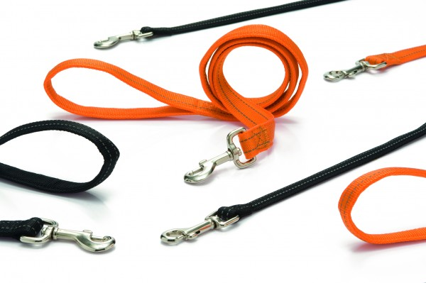 I.P.T.S.744994 Поводок Авентура светоотражающий оранжевый 120см*20мм нейлон