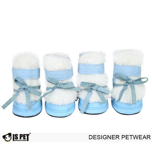 ForMyDogs Ботинки зима голубые FW13