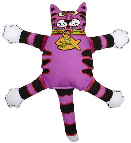 Fat Cat Terrible Nasty Scaries Dog Toy игрушка для собак - Злобный кот, большая, мягкая
