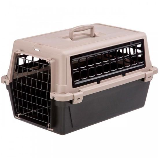 Ferplast ATLAS 20 TRENDY Plus контейнер-переноска для животных до 8кг 58*37*32см черный