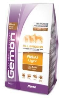 Gemon Adult All Breeds Light Chicken облегченный сухой корм для взрослых собак всех пород с курицей 3кг