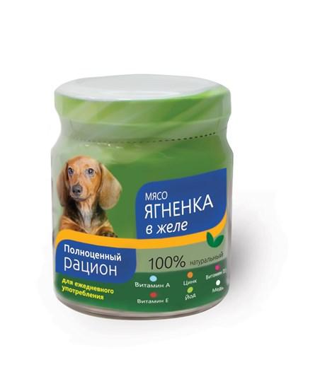 TiTBiT консервы для собак всех возрастов и пород с ягненком в желе 100гр