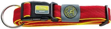 Hunter Smart Maui S 32-45cм/2,5 см ошейник для собак, сетчатый текстиль, красный