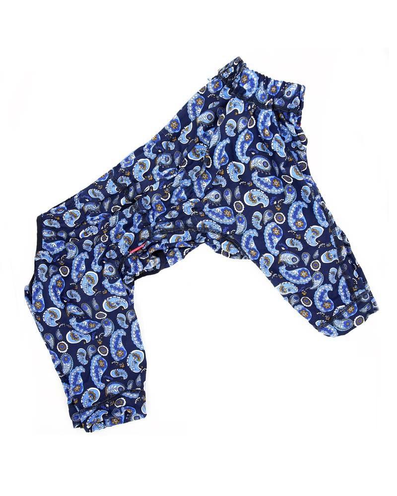 ForMyDogs Пыльник синий для мальчиков, р-р В2